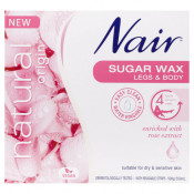 Nair Natural Origin Rose Sugar Wax 350ml