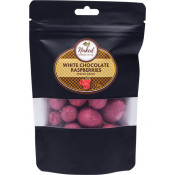Naked Chocolate Co. Freeze Dried Raspberries White Chocolate 125g
