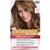 L'Oreal Excellence Creme 6.3 Light Golden Brown Hair Colour