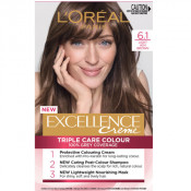 L'Oreal Excellence Creme 6.1 Light Ash Brown Hair Colour