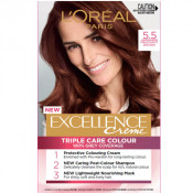 L'Oreal Excellence Creme 5.5 Mahogany Brown Hair Colour