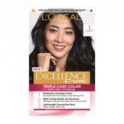 L'Oreal Excellence Creme 1 Black Hair Colour