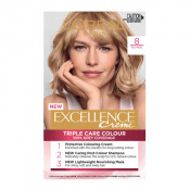L'Oreal Excellence Creme 8 Blonde Hair Colour
