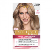 L'Oreal Excellence Creme 8.1 Ash Blonde Hair Colour