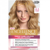 L'Oreal Excellence Creme 8.3 Golden Blonde Hair Colour