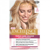 L'Oreal Excellence Creme 9 Light Blonde Hair Colour
