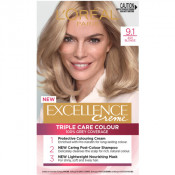 L'Oreal Excellence Creme 9.1 Light Ash Blonde Hair Colour