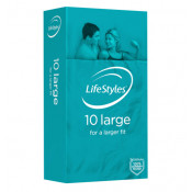 Lifestyles Condoms Large 10 Pack