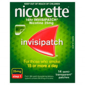 Nicorette 16hr Invisipatch Step 1 25mg 14 Patches