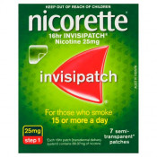 Nicorette 16hr Invisipatch Step 1 25mg 7 Patches
