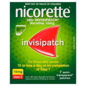 Nicorette InvisiPatch 15mg 7 Pack