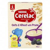Cerelac Cereal Oat & Wheat with Prune 6 Months+ 200g