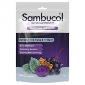 Sambucol Soothing Relief Nose and Throat Lozenges 16 Pack