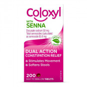 Coloxyl with Senna 200 Tablets