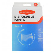 Surgical Basics Disposable Pants Medium 5 Pack