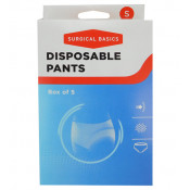Surgical Basics Disposable Pants Small 5 Pack