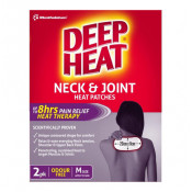 Deep Heat Patches Neck & Joint Medium 2 Pack