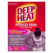 Deep Heat Patches Period Pain Small 3 Pack