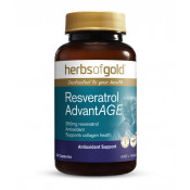 Herbs of Gold Resveratrol AdvantAGE 60 Capsules