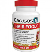 Carusos Hair Food 60 Tablets