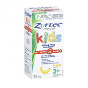 Zyrtec Kids Banana Flavour Sugar Free 75ml