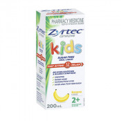 Zyrtec Kids Banana Flavour Sugar Free 200ml