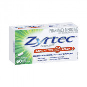 Zyrtec Rapid Acting 10mg 60 Mini Tablets
