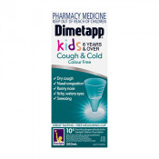 Dimetapp Kids Cough & Cold Colour Free 6 years & Over 100ml