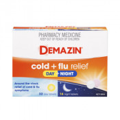 Demazin PE Multi-Action Day & Night Cold & Flu Relief 48 Tablets