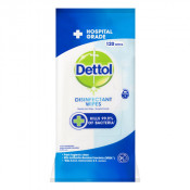 Dettol Disinfectant Surface Cleaning 120 Wipes