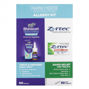 Zyrtec Tablets and Rhinocort Nasal Spray Kit