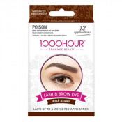 1000 Hour Eyelash & Brow Dye Kit Dark Brown