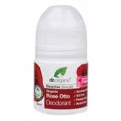 Dr Organic Rose Otto Deodorant Roll-On 50ml