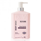 DR. V Body Wash So Pure (Extra Gentle for Sensitive Skin) 750ml