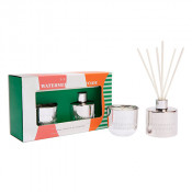 Aromabotanical Diffuser 50ml + Candle Gift Set Watermelon Lemonade