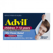 Advil Childrens Chewable Pain & Fever 7-12 Years 20 Tablets