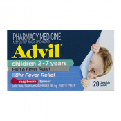 Advil Childrens Chewable Pain & Fever 2-7 Years 20 Tablets