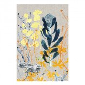 KE Design Linen Tea Towel Protea