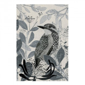 KE Design Linen Tea Towel Kingfisher