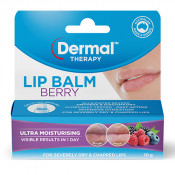 Dermal Therapy Lip Balm Berry 10g