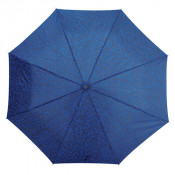 Shelta 3791 Mini Maxi Xanadu Print Umbrella Blue Vine