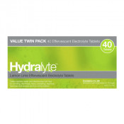 Hydralyte Effervescent Lemon&Lime 40 Tablets