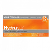 Hydralyte Effervescent Orange 40 Tablets