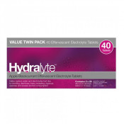 Hydralyte Effervescent Electrolyte Tablets Apple Blackcurrent 40 Pack