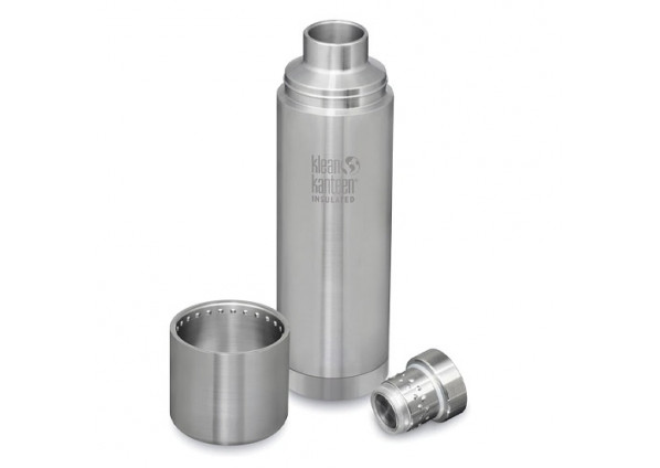 Klean Kanteen Insulated Bottle TKPro Brushed Stainless 1 Litre