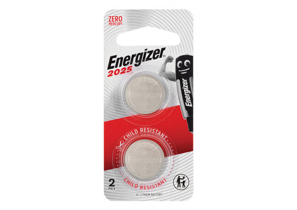 Energizer Lithium Battery 2025 2 Pack