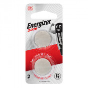Energizer Lithium Battery ECR 2016 2 Pack