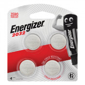 Energizer Lithium Battery 2032 4 Pack