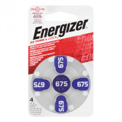 Energizer Hearing Aid Battery 675 4 Pack