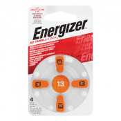 Energizer Hearing Aid Battery 13 4 Pack